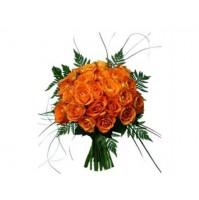 Orange Roses Bunch