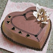 Heart Shaped Coffee Cake