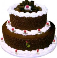 2-Tier Blackforest Cake