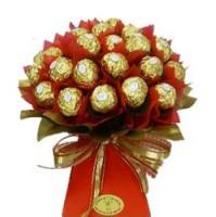 16 Pcs Ferrero Rocher chocolate bouquet will surprise anyone