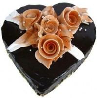 Chocolate Cake - Heart Shape