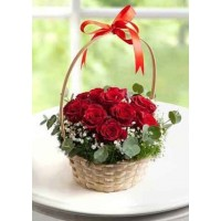 Small Beautiful rose  basket
