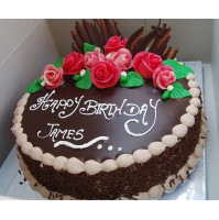 happy birthday CHOCOLATE CAKE  FOR SPECIAL OCCSION